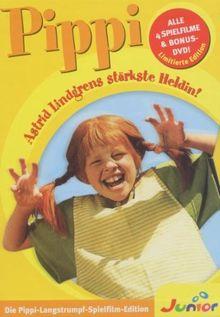 Pippi Langstrumpf - Die Spielfilm-Edition auf DVD