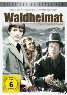 Waldheimat - Staffel 2 (Weitere 13 Folgen der Kultserie nach der Autobiografie von Peter Rosegger) (Pidax-Serien-Klassiker) [2 DVDs]