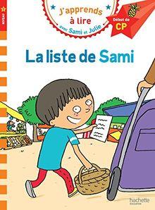 La liste de Sami : Niveau 1 début de CP