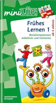 miniLÜK: Kindergarten / Vorschule / Frühes Lernen 1: Basiskompetenzen anbahnen und trainieren