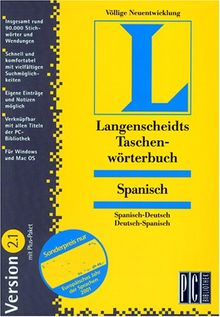 Spanisch 2.1, 1 CD-ROMSpanisch-Deutsch/Deutsch-Spanisch. Für Windows 3.1/95/98/NT 3.51 oder MacOS 7.5. Rund 90.000 Stichwörter u. Wendungen