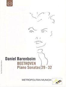 Beethoven: Klaviersonaten 29 - 32 Daniel Barenboim