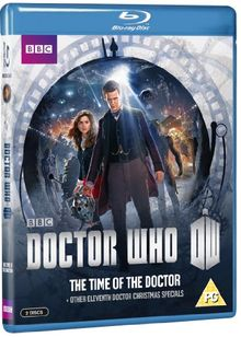 Doctor Who - The Time of the Doctor & Other Eleventh Doctor Christmas Specials [Blu-ray] [UK Import]