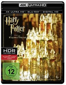 Harry Potter und der Halbblutprinz (4K Ultra HD) (+ Blu-ray)