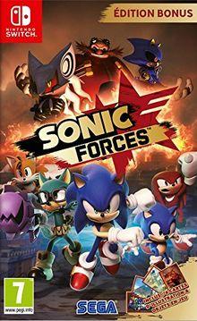 Sonic Forces Edition Bonus Jeu Switch