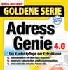 Adressgenie 4.0, 1 CD-ROM Die Kontaktpflege der Extraklasse. Für Windows 95C/98(SE)/ME/NT4/2000. Datenabgleich mit dem PalmPilot. Unterstützt die gängigen Telefon-CDs