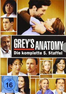 Grey's Anatomy: Die jungen Ärzte - Die komplette 5. Staffel [7 DVDs]