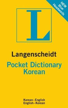 Langenscheidt Pocket Dictionary Korean: Koreanisch-Englisch/Englisch-Koreanisch