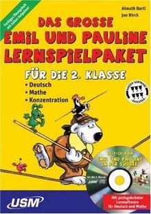 Emil & Pauline - Lernspielpaket 2. Kl.