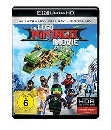 The LEGO Ninjago Movie (4K Ultra HD + Blu-ray + Digital HD) [Blu-ray]