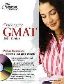 Cracking the GMAT with DVD, 2010 Edition: Proven techniques from the test-prep experts (Graduate School Test Preparation)