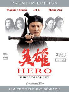 Hero (Director's Cut - Premium Edition, 3 DVDs) (WMV HD-DVD)
