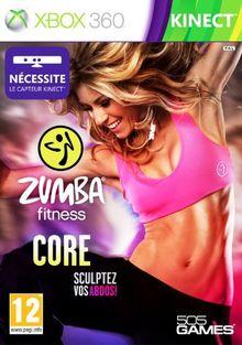 Zumba fitness core : sculptez vos abdos ! (jeu Kinect - ceinture non incluse) - FR
