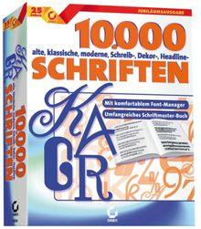 10.000 Schriften
