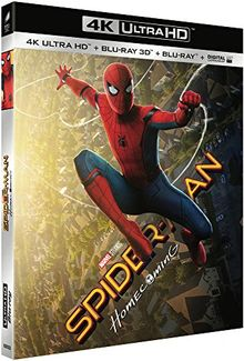 Spider-man : homecoming 4k ultra hd [Blu-ray] [FR Import]