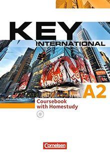 Key - Internationale Ausgabe: A2 - Kursbuch mit CDs