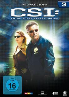 CSI: Crime Scene Investigation - Die komplette Season 3 [6 DVDs]