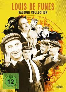 Louis de Funes - Balduin Collection [6 DVDs]