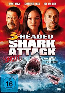 3-Headed Shark Attack / Mehr Köpfe, mehr Tote (uncut) [DVD]