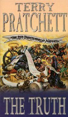 The Truth. The 25th. Discworld Novel.