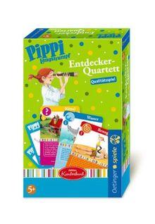 Pippi Entdecker-Quartett