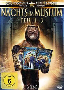 Nachts im Museum - Teil 1-3 [2 DVDs]