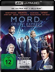 Mord im Orient Express (4K Ultra HD) (+ Blu-ray 2D)