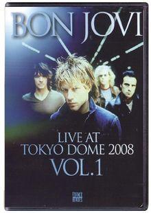 Live At Tokyo Dome 2008 / Vol. 1