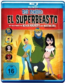 El Superbeasto [Blu-ray]