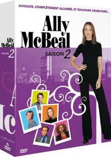 Ally McBeal : intégrale Saison 2 - coffret 6 DVD [FR Import]