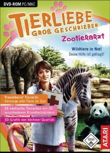 Tierliebe groß geschrieben: Zootierarzt (PC+MAC-DVD)