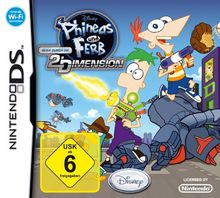 Phineas und Ferb - Quer durch die 2. Dimension
