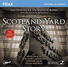 Die Scotland Yard-Story / Das komplette 2-teilige Kriminalhörspiel (Pidax Hörspiel-Klassiker)