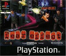 Fear effect - Playstation - PAL