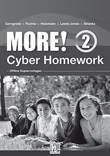 MORE! 2 Cyber Homework - Offline Kopiervorlagen NEU: (Helbling Languages)