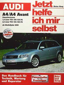 Audi A4 / A4 Avant ab Modelljahr 2000: Dieselmotoren // Repron der 1. Auflage 2002 (Jetzt helfe ich mir selbst)