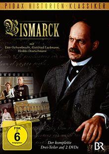 Bismarck - Der komplette 3-Teiler mit Starbesetzung über das Leben des EISERNEN KANZLERS (Pidax Historien-Klassiker) [2 DVDs]