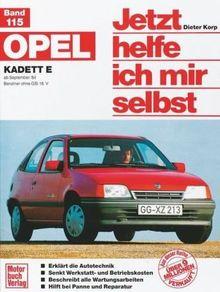 Opel Kadett E (ab Sep. 84): Benziner ohne GSi 16V (Jetzt helfe ich mir selbst)