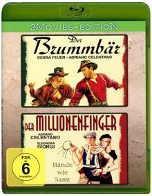 Adriano Celentano : Der Brummbär - Der Millionenfinger [Blu-ray]