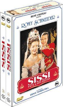Coffret Sissi vol. 2 : Sissi face a son destin / Sissi, les jeunes années d'une reine - Coffret 2 DVD [FR Import]