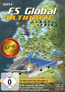 Flight Simulator X - FS Global Ultimate: Europa - Afrika
