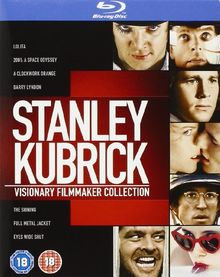 [UK-Import]Stanley Kubrick Visionary Filmmaker Collection Blu-Ray