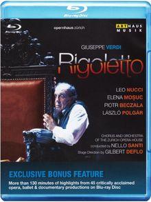 Giuseppe Verdi: Rigoletto [Special Edition Blu-ray plus Katalog]