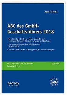 ABC des GmbH-Geschäftsführers 2018