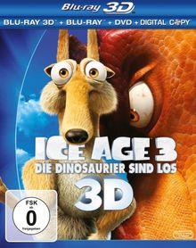 Ice Age 3 - Die Dinosaurier sind los (+ Blu-ray + DVD + Digital Copy) [Blu-ray 3D]