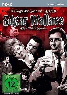 Edgar Wallace (The Edgar Wallace Mysteries) / 12 Folgen der Krimiserie von Altmeister Edgar Wallace (Pidax Serien-Klassiker) [4 DVDs]