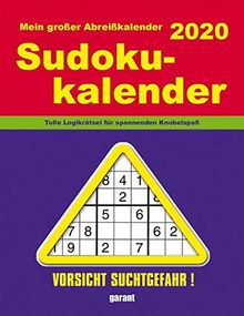 Abreißkalender Sudoku 2020