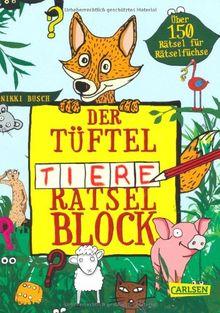 Tüftel-Tiere-Rätsel-Block
