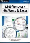 4.500 Vorlagen für Word & Excel