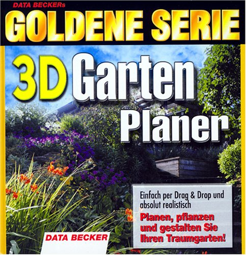 3d gartenplaner von data becker. Black Bedroom Furniture Sets. Home Design Ideas